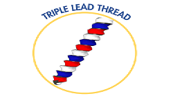 Triple lead
